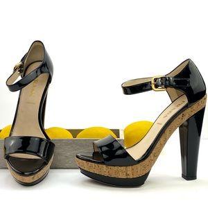 Prada Patent Leather Corkscrew Platforms